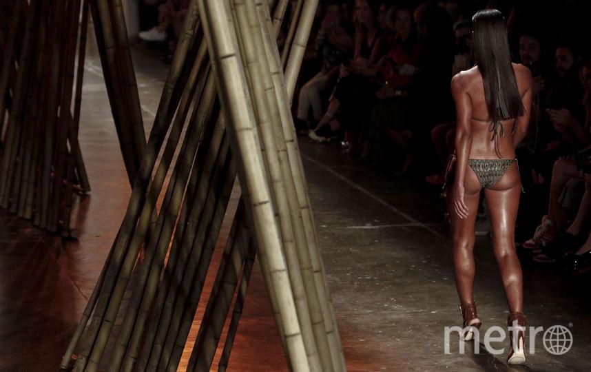 Неделя моды в Сан-Паулу продлится до 31 августа. Фото AFP