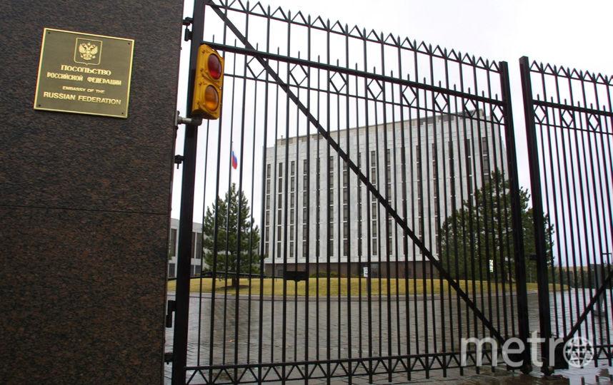 Посольство России в Вашингтоне. Фото Getty