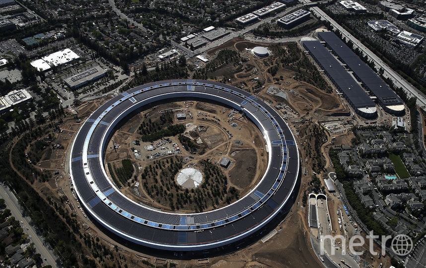 Apple Park – новый кампус компании. Фото Getty