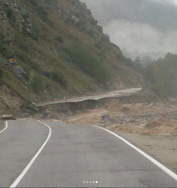 В горах неспокойно. Фото https://www.instagram.com/botiss_number1/