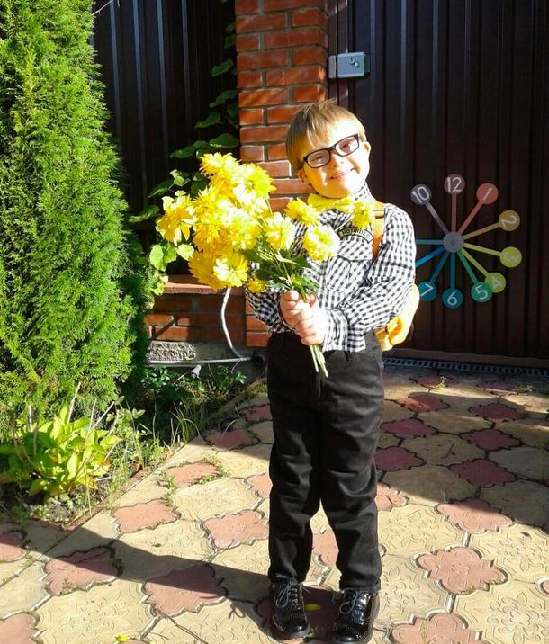 Сыну Эвелины Бледанс - Семену, только предстоит пойти в школу. Фото Скриншот/Instagram:bledans