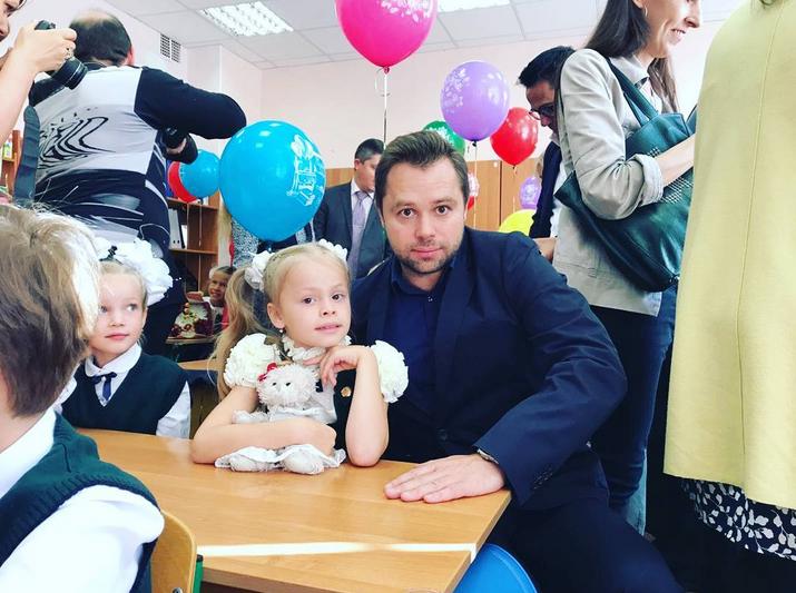 Виталий Гогунский с дочерью. Фото Скриншот/Instagram:gogunskv