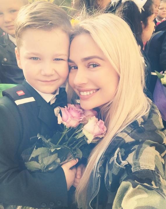 Наталья Рудова с племянником Иваном. Фото Скриншот/Instagram:rudovanata