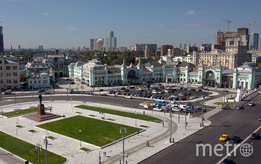 Площадь Тверской заставы после изменений. Фото Василий Кузьмичёнок