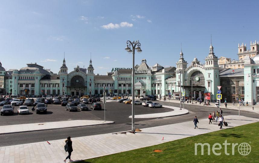 Территория у Белорусского вокзала преобразилась. Фото Василий Кузьмичёнок