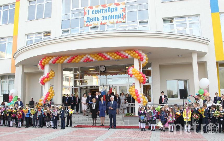 Первое сентября в школах Петербурга. Фото http://gov.spb.ru/