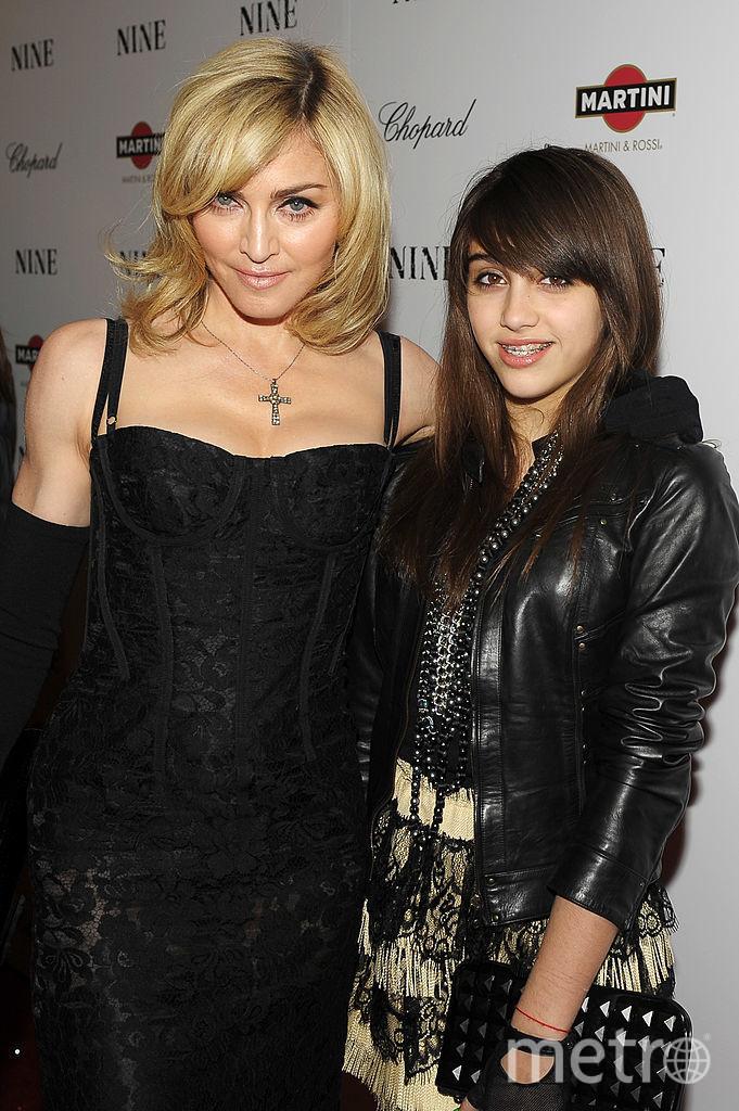 Мадонна со старшей дочерью Лурдес. Фото Getty
