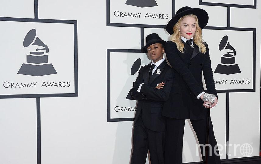 Мадонна с сыном Дэвидом Бандой. Фото Getty