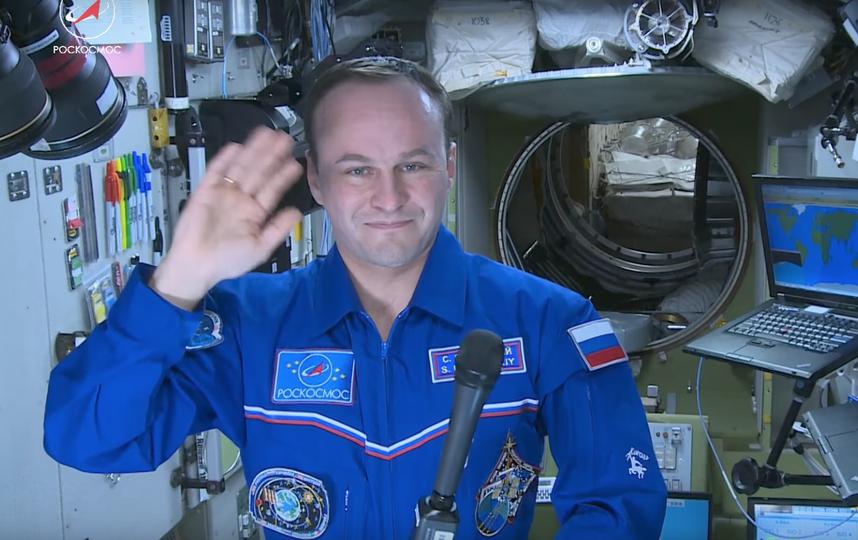 Космонавт Сергей Рязанский. Фото Скриншот Youtube