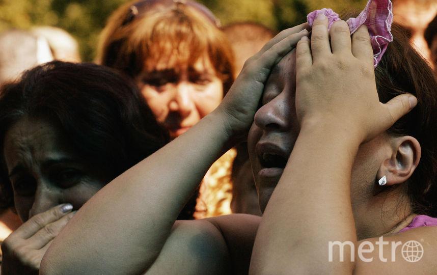 Родственники погибших, 2004-й год. Фото Getty