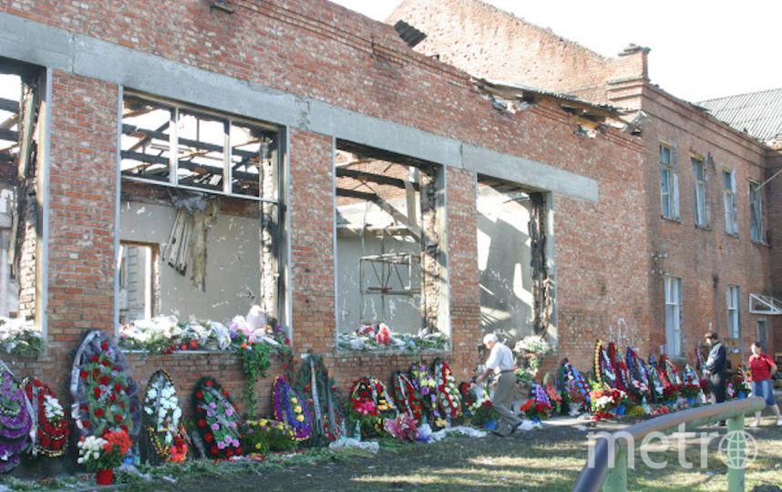 Школа номер один, в которой разворачивались трагические события. Фото Getty