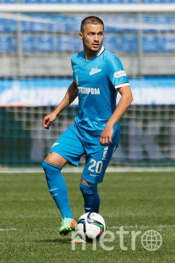"Футболист ""Зенита"" Виктор Файзулин. Фото Getty"