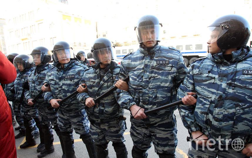 "ОМОН. Фото Василий Кузьмичёнок, ""Metro"""
