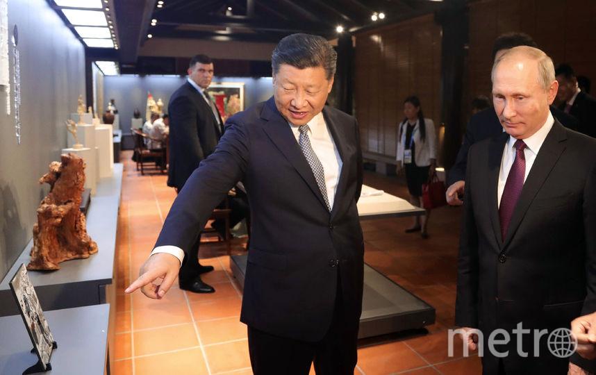 Владимир Путин прибыл с визитом в Китай. Фото AFP