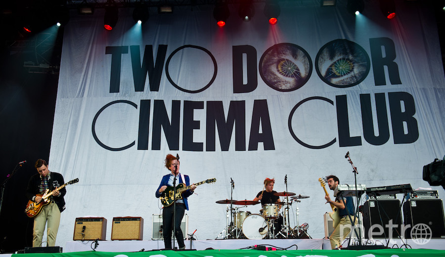 Two Door Cinema Club. Фото Getty