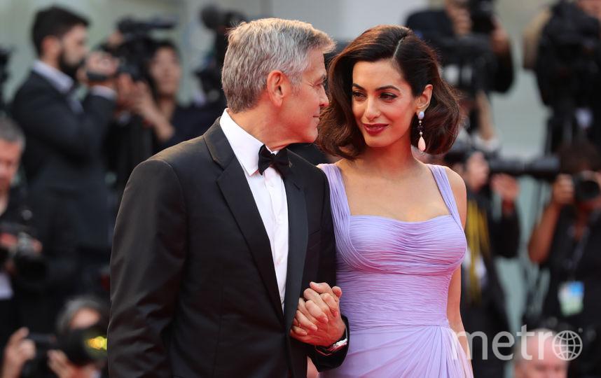 "Джордж Клуни представил в качестве режиссера фильм ""Субурбикон"". Фото Getty"