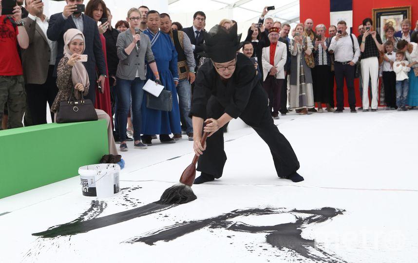 Ким Чон Чхиль творит. Фото Агентство «москва» | Андрей Никеричев