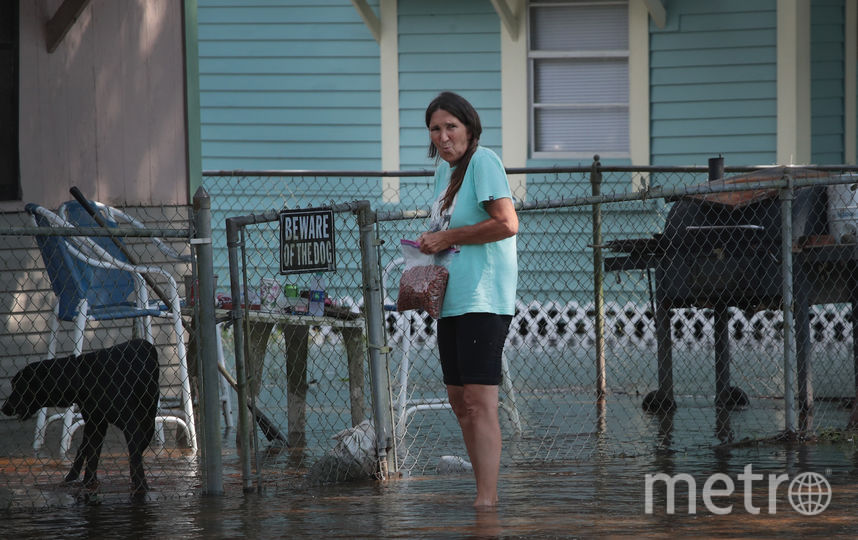 "Хьюстон, штат Техас, после урагана ""Харви"". Фото AFP"
