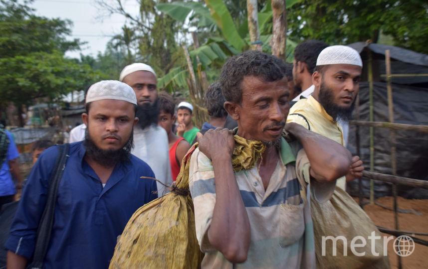 Конфликт в Мьянме. Фото AFP