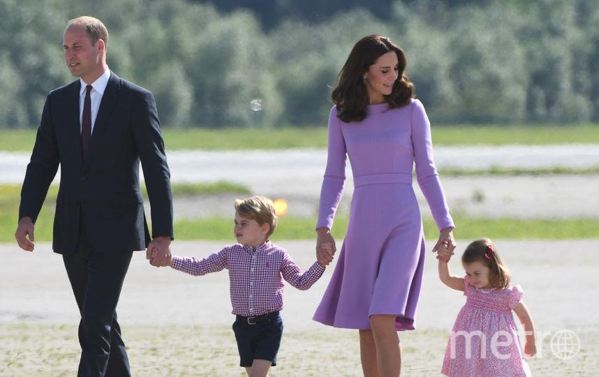 Сын Джордж родился у Кейт и Уильяма 22 июля 2013 года, дочь Шарлотта – 2 мая 2015 года. Фото AFP