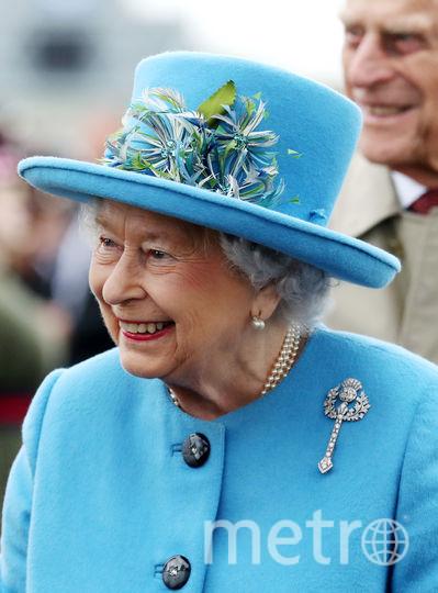 Королева Елизавета после известия о беременности Кейт. Фото Getty