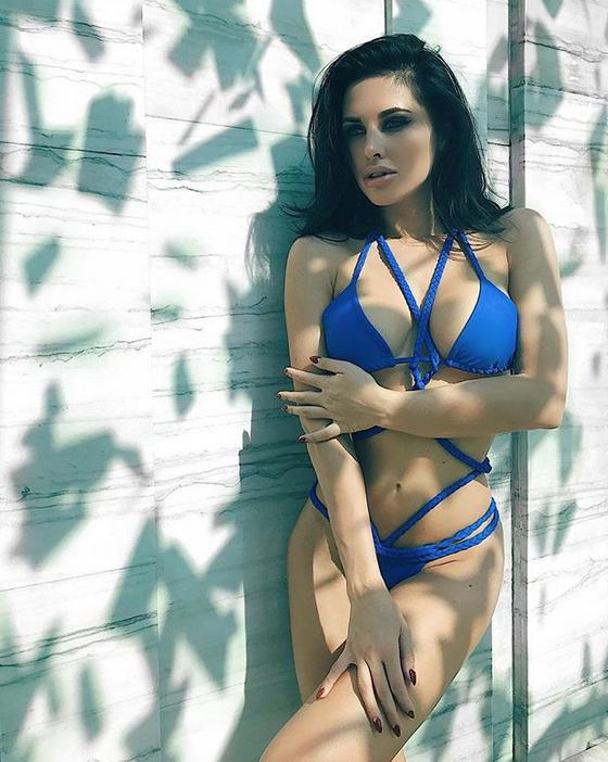 Ольга Блохина, фитнес-модель. Фото Скриншот Instagram.com/olga_jade/
