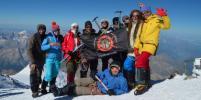 Горный клуб Страху Нет провел экологическое восхождение на Эльбрус