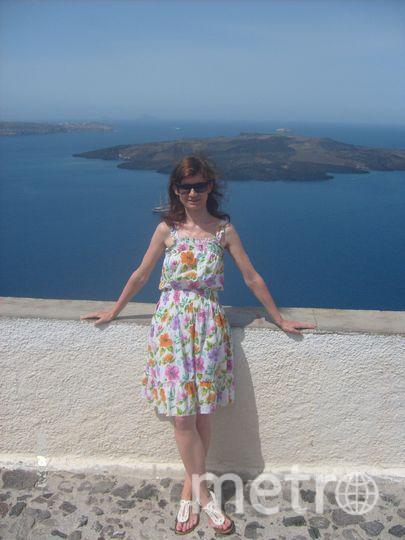 Моя фотография сделана на солнечном острове Санторини! Фото Светлана Галиева