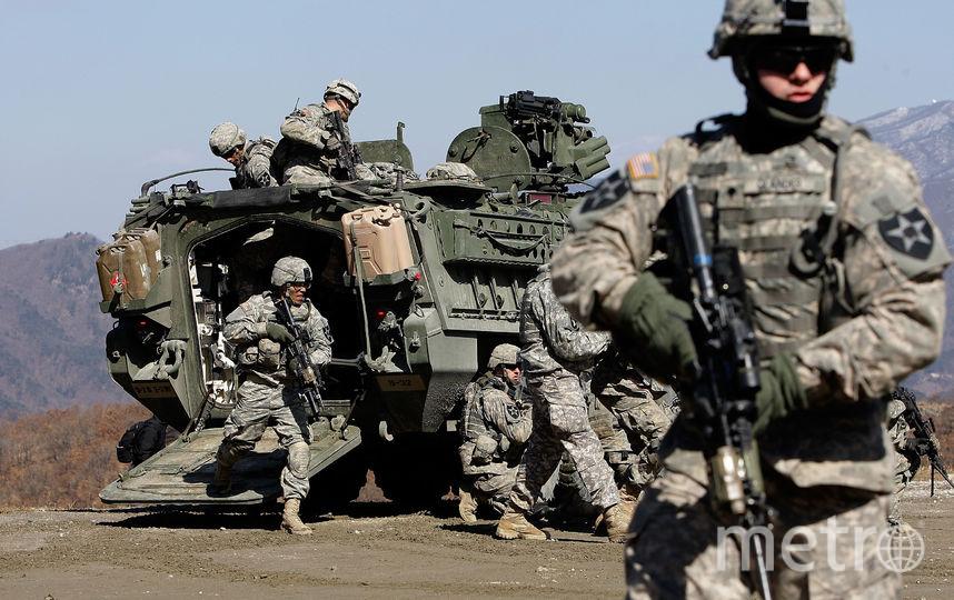 Военные учения США и Южной Кореи. Фото Getty