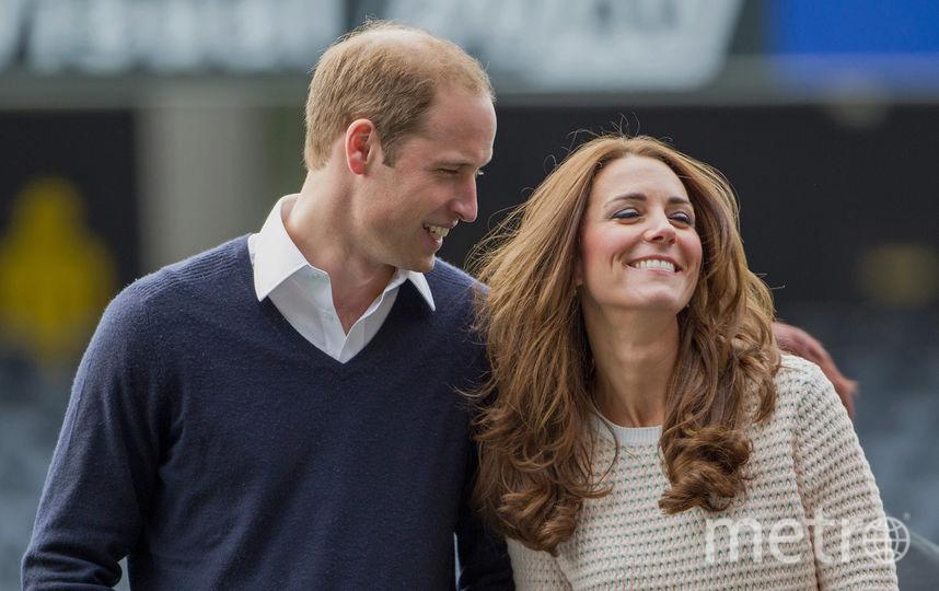 Герцог и герцогиня Кембриджские. Фото Getty