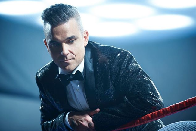 Робби Уильямс. Фото Instagram @robbiewilliams