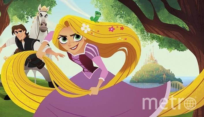 Рапунцель. Фото Предоставлено пресс-службой Канала Disney.