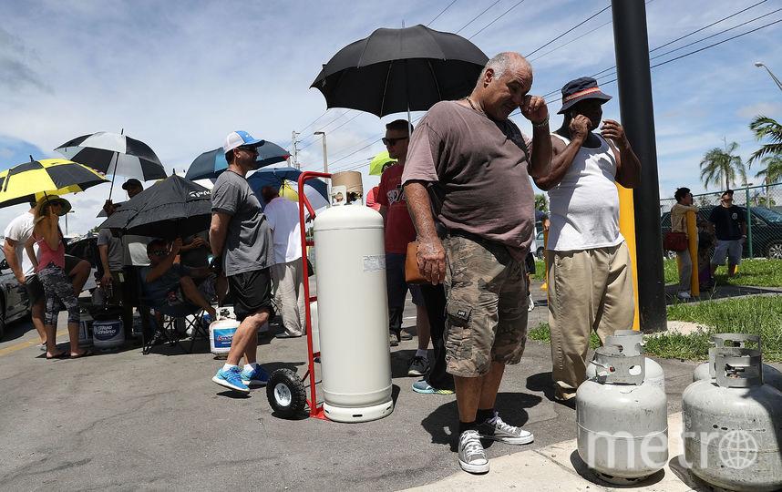 Ураган Ирма называют самым мощным за последние десятилетия в США. Фото Getty