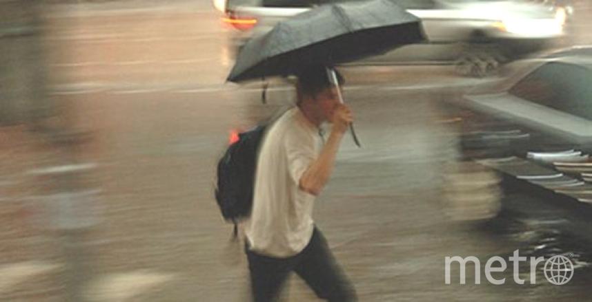 В Петербурге снова дожди. Фото Getty
