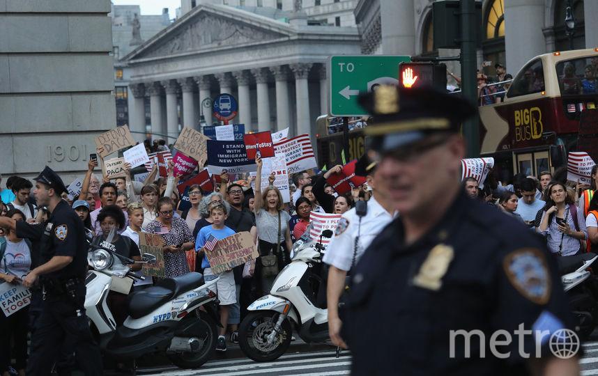 Демонстрация в Нью-Йорке. Фото AFP