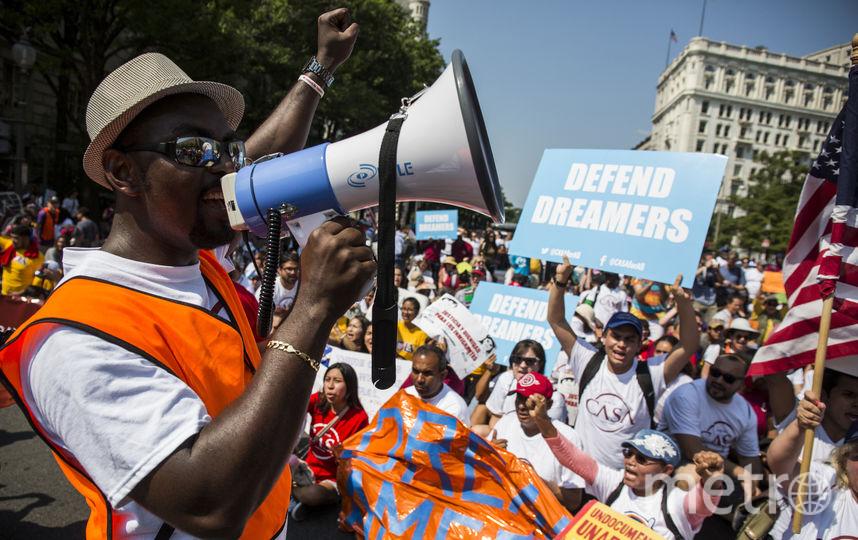 Демонстрация в Вашингтоне. Фото AFP