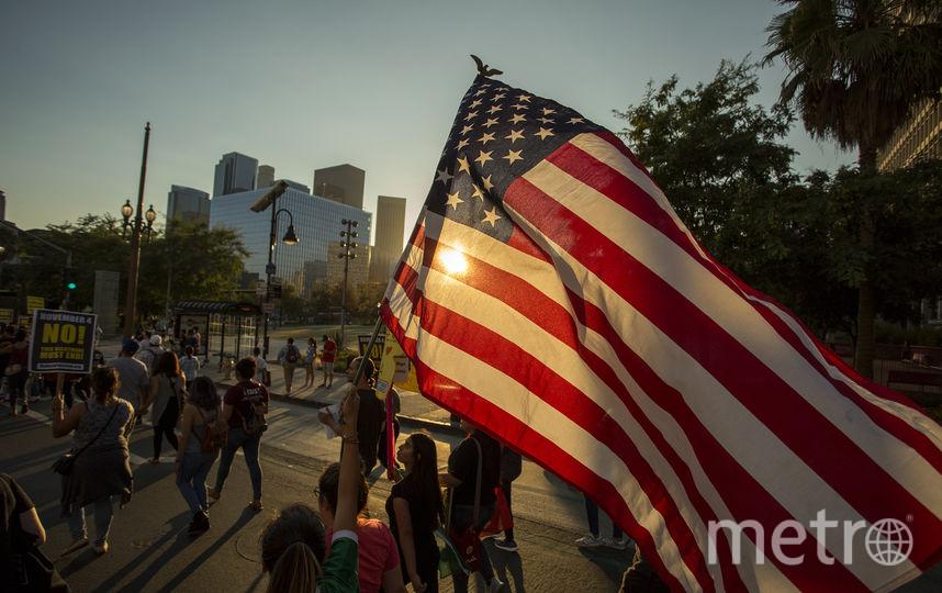 Демонстрация в Лос-Анджелесе. Фото AFP