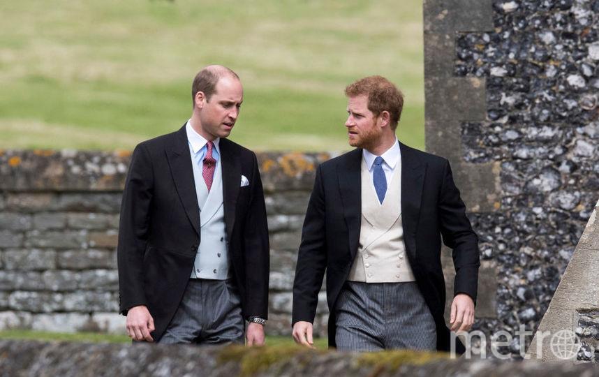 Принц Уильям и принц Гарри - семейный фотоархив. Фото Getty