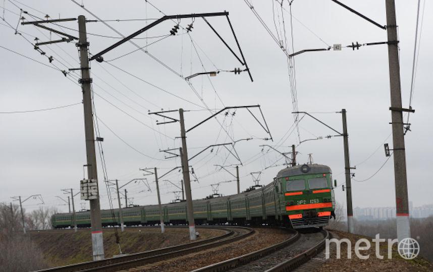 Электричка (архивное фото). Фото РИА Новости