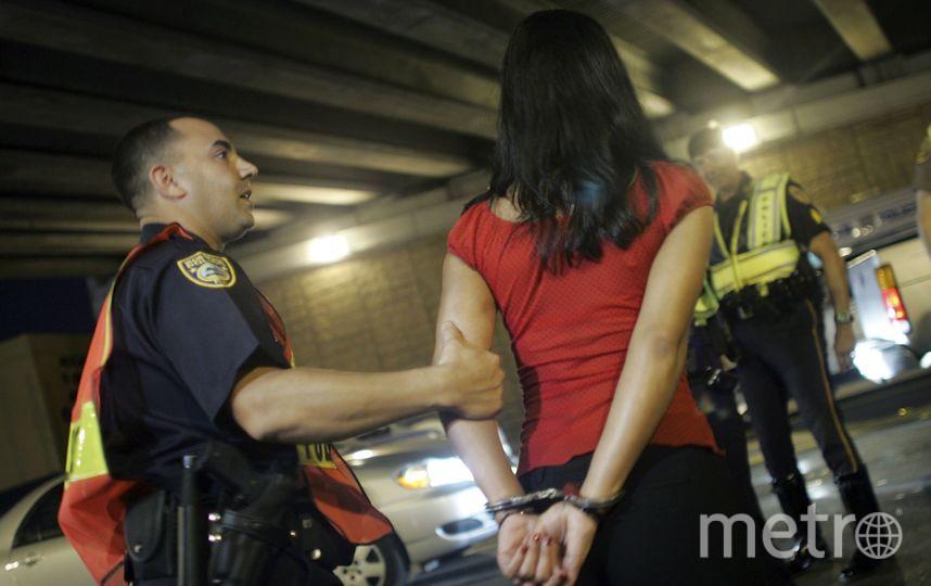 Арест в США. Фото Getty