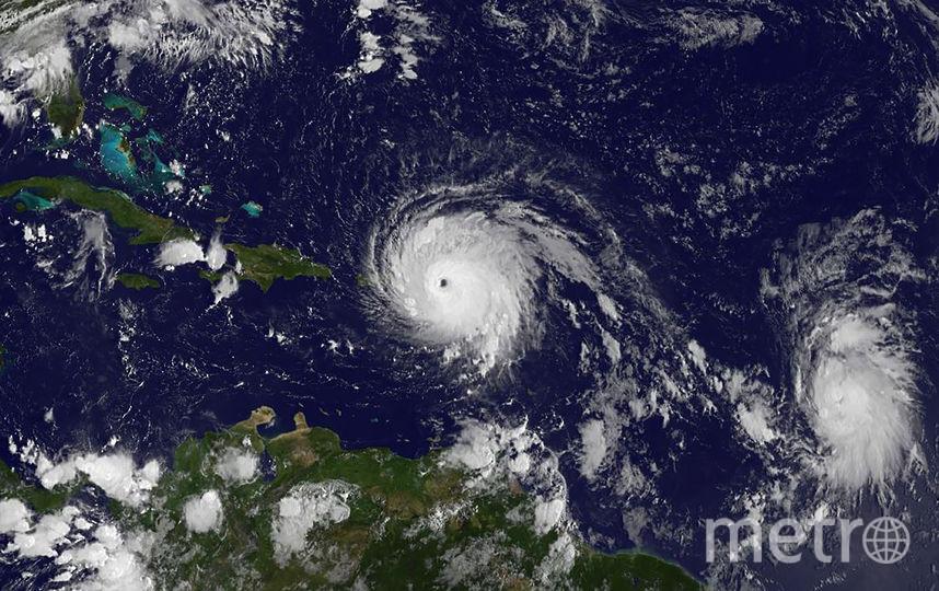 """Ураган """"Ирма"""" из космоса. Фото AFP"""