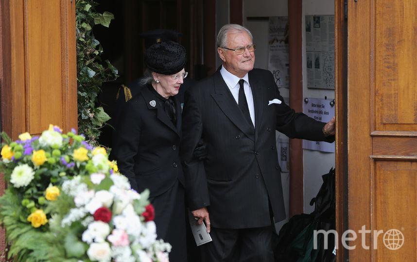 Принц консорт Хенрик и его супруга Маргрете II. Фото Getty