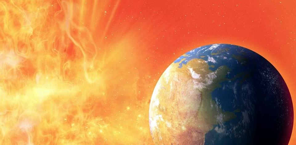 На Солнце зарегистрировали самую большую вспышку за 12 лет. Фото Getty