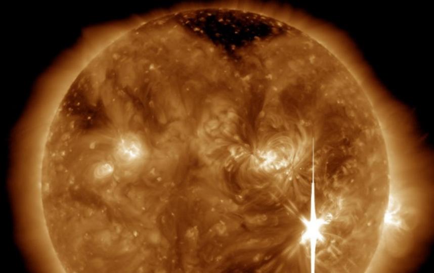 На Солнце зарегистрировали самую большую вспышку за 12 лет. Фото Скриншот tesis.lebedev.ru