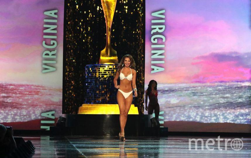 """Мисс Вирджиния. фото участниц """"Мисс Америка-2018"""". Фото Getty"""