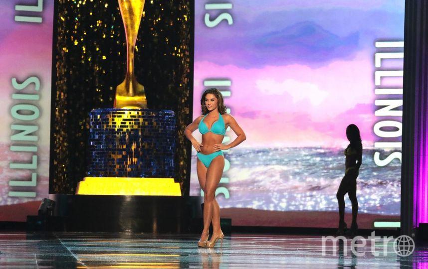 """Мисс Иллинойс. фото участниц """"Мисс Америка-2018"""". Фото Getty"""