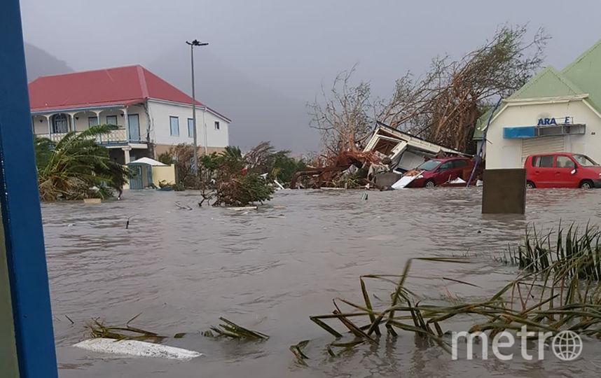 """Ураган """"Ирма"""" ударил по столице Синт-Мартена Филипсбургу. Фото AFP"""