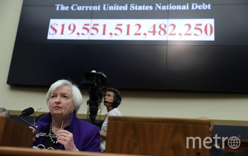 Счётчик госдолга США. Фото Getty