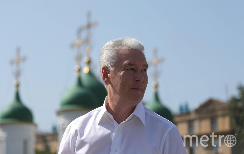 Сергей Собянин. Фото Сергей Собянин | Антон Новодережкин | ТАСС