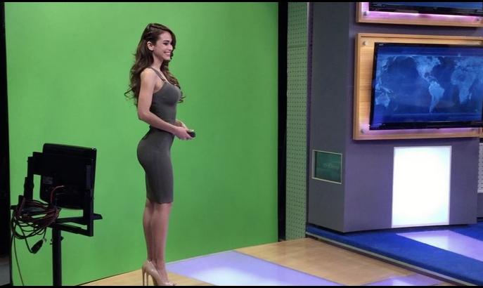 Янет Гарсиа, телеведущая - фотоархив.